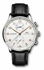 IWC Portuguese Chronograph Stainless Steel Watch IW371445 W4636