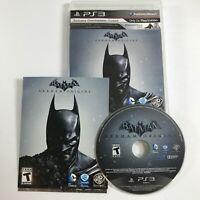 Batman Arkham Origins PS3 Playstation 3 2013 Complete with Case & Manual