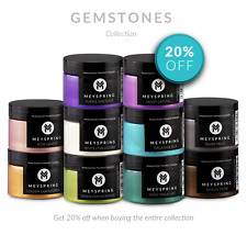 MEYSPRING Gemstones Collection - 10 Pearlescent Pigments for Epoxy Resin - 500g