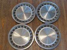 "CHRYSLER CORP. PLYMOUTH DODGE CARAVAN VOYAGER 14"" HUBCAPS SET OF 4 L2 X3-1901"