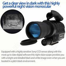 Wolfclub 650D+ Digital Night Vision Monoculars Infrared 320m 6Xzoom Video Camera