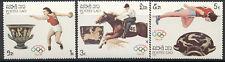Laos 1987 - MNH set of 7 1988 Summer Olympics, Seoul 4.40 cv 766-92 lot 12