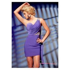 Tony Bowls Designer Purple Dress TS21220 Party Wedding Cocktail Size 8 rrp £255