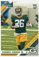 2019 DONRUSS RC DARNELL SAVAGE JR. GREEN BAY PACKERS ROOKIE - D733-2