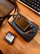 Sega Game Gear 2110K in Nuby Case + Sonic the Hedgehog 2 As-Is Parts/Repair