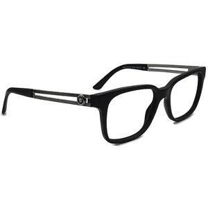 Versace Eyeglasses MOD3218 5122 Black/Gunmetal Rectangular Italy 53[]17 140