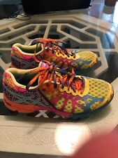 Asics Womens Gel Noosa Tri 9 Neon Running Shoes Size 6.5 (EU 37.5)