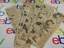 The Oregonian- April 1945- Lot Of 24 Comic Strips-Gasoline Alley - Black & White
