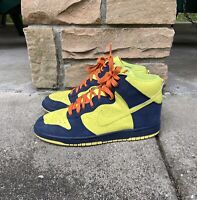 Men's 2009 Nike Dunk High The Simpsons US Size 8.5 317982-772