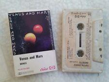 "PAUL MCCARTNEY RARE CASSETTE  ""VENUS & MARS"" AUSTRALIAN EMI THE BEATLES MPL"