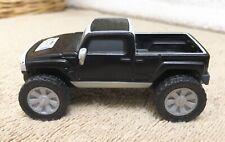 GM Hummer McDonalds Black Plastic Toy Car Truck Vehicle Loose EXC