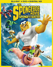 The SpongeBob Movie: Sponge out of Water (Blu-ray/DVD, 2015) NEW ! w/ Slipcover!