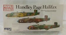 NOS MPC Profile Series Handley Page Halifax Bomber 1/72 Scale Model Kit Complete
