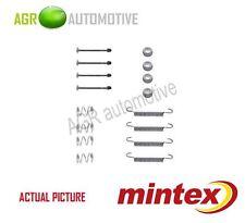 MINTEX REAR PARKING BRAKE SHOES SET FITTING KIT GENUINE OE QUALITY - MBA711