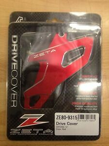 HONDA CRF 250 L M 2012-2019 ZETA DRIVE COVER SPROCKET SPROCK GUARD RED