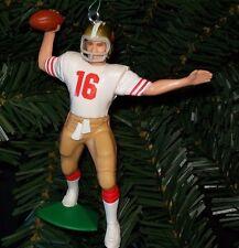 Joe Montana SAN FRANCISCO 49ERS NFL Christmas tree ornament football figure