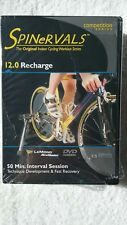 3 PACK DVD'S - Spinervals 12.0 & 14.0 & Healthy Learning Indoor Cycling Training