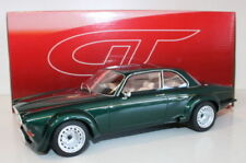 Véhicules miniatures verts en résine pour Jaguar