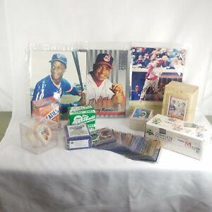 Mixed Baseball cards and collectibles Junk drawer Lot Baseball
