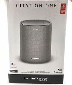 Harman Kardon Citation ONE Wireless Speaker - Grey -Brand New - Save Up to 20 %