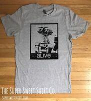 Johnny 5 Short Circuit Alive 80's Robot Shirt