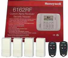 Honeywell 6162RF Keypad + 4 5816 W TRANSMITTER  + 2 5834-4  KEY FOB