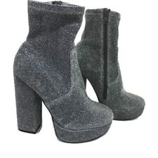 5dce4a91993 Steve Madden Silver Ankle Boots for Women for sale | eBay