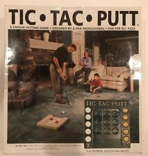 NEW Tic Tac Putt Unique Putting Floor Golf Game designed by a PGA Professional
