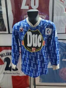 Maillot jersey shirt maglia aj auxerre aja vintage baticle 1992 1993 92-93 duc