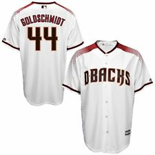 Paul Goldschmidt Arizona Diamondbacks MLB Majestic Kids White Red Jersey Size 4