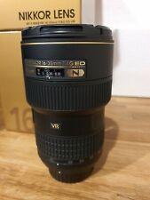 Nikon AF-S Nikkor 16-35 F/4G ED VR Lens
