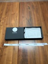Chanel Empty Gift Box With Camellia Flower And Ribbon