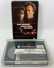 The Rookie Video 8 Movie 8mm Charlie Sheen, Clint Eastwood