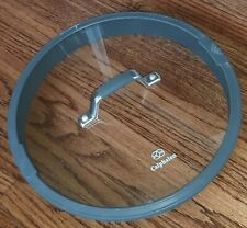 """New listing Genuine Calphalon Replacement Glass Strainer Lid 12"""" Outer 11 1/8l4"""" Inner Vtg"""