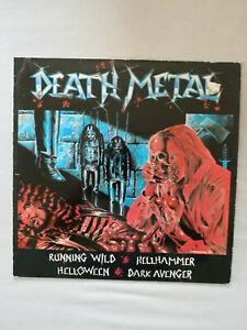 Death Metal / Running Wild, Hellhammer, Helloween, Dark Avenger LP Vinyl 1984