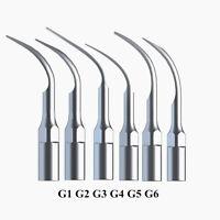 6pcs Dental Scaler Tips Fit EMS Woodpecker Ultrasonic Scaler Handpiece CN/S