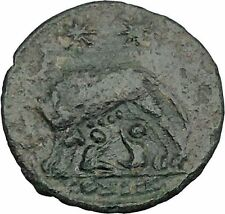 "Constantine I The Great Ancient Roman Coin Romulus & Remus ""Mother"" wolf  i37557"