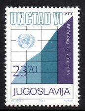 Yugoslavia - 1983 UNCTAD conference Mi. 1993 MNH