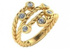 by the yard fashion right hand ring gold 0.30 ctw F Vs2 round ideal cut diamonds