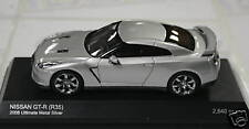 KYOSHO 1/43 SILVER NISSAN GT-R (R35) ONLY 2640 MADE