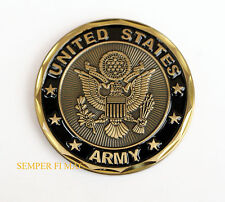 US ARMY CHALLENGE COIN CAV PIN Division Brigade Regiment Squadron Troop Corps