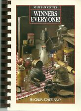 IOWA STATE FAIR COOKBOOK - DES MOINES, IOWA - 1986 - 4TH EDITION - GREAT!!!