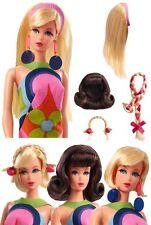 DYX78 Barbie Hair Fair Hair Doll Set 50th Anniversary Mattel 2017 MINT