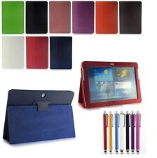 Luxury Leather Smart Cover Case Stand for Samsung Galaxy Note 10.1 N8000 Tablet