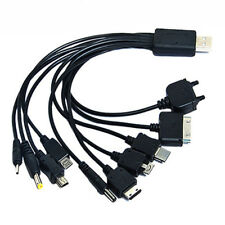 Charger USB Cable for Motorola Nokia Samsung LG Sony Ericsson Data Cables 10in1
