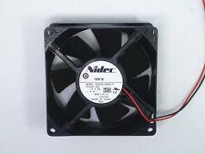 NIDEC 9238 12V 1.0A M35556-35DEL7F RK388-A00 cooling fan #M886A QL