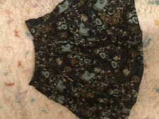 J.Jill Silk Blend Floral Swing Skirt Ladies Sze 12 32W 24L New NWOT