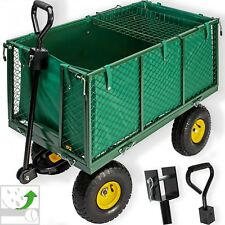 Kesser Bollerwagen 550kg Transportwagen Gartenwagen Gerätewagen Handwagen Power