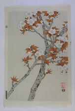 Cherry blossoms :Japanese print original Shin Hanga, Ito Nisaburo