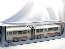 Soviet Bus, Ikarus-180 Gelenkbus Bus Ungarn 1966-1973 Bendy Bus 1/43